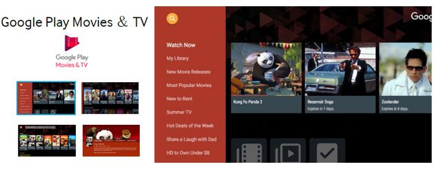 Google Play Film su Smart TV Samsung e LG