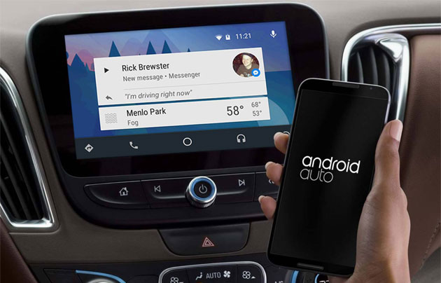 Facebook Messenger in Android Auto
