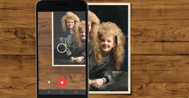 FotoScan di Google Foto, app per digitalizzare foto stampate