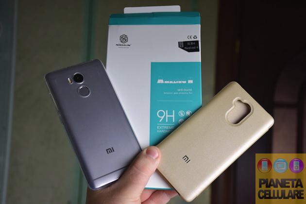 Recensione cover e pellicola vetro Xiaomi Redmi 4 Pro