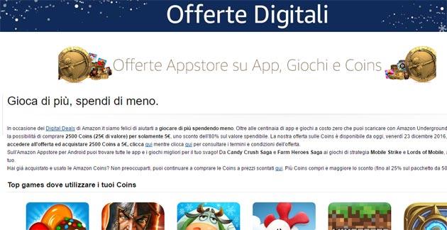 Amazon.it Digital Deals: il 30 dicembre scontati tanti giochi