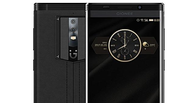 Gionee M2017 con super batteria da 7000 mAh