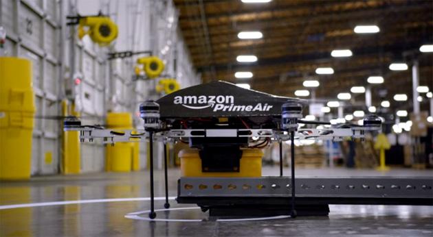 Prime Air: Amazon inizia a consegnare coi droni nel Regno Unito