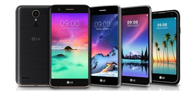 LG annuncia smartphone serie K 2017 e Stylus 3
