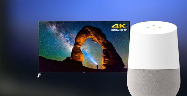 Sony rende compatibili i televisori Android TV e speaker wireless con Google Home