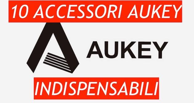 10 accessori Aukey da regalarsi per Natale