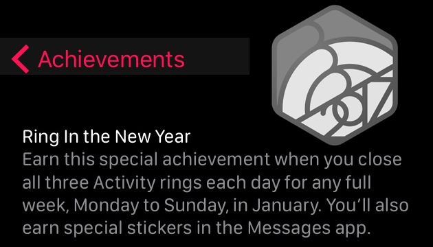 Apple lancia sfida 'Ring in the New Year' per gli utenti di Apple Watch