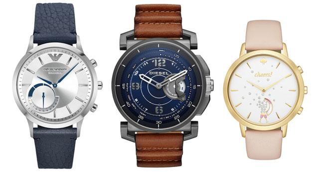 Fossil Diesel, Kate Spade e Emporio Armani, smartwatch ibridi