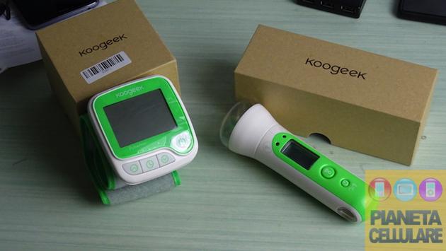 Recensione Misuratore di pressione e termometro Bluetooth Koogeek