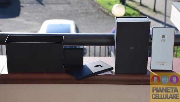 Unboxing Xiaomi Mi Mix e prime impressioni