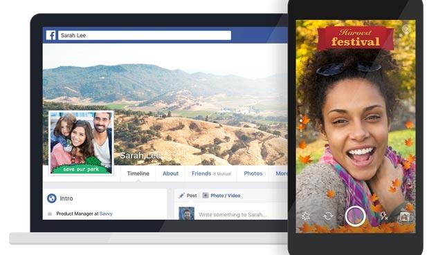 Facebook, come creare motivi per Foto e Video con Effetti Fotocamera