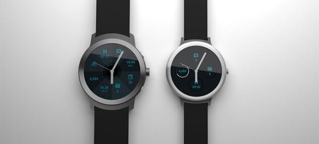 Foto Due smartwatch Google Android Wear attesi a febbraio