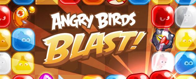Angry Birds Blast, nuovo gioco by Rovio per iOS e Android