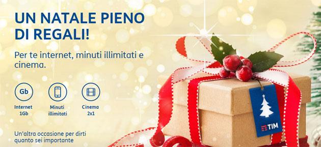 TIM regala Giga, Minuti e Cinema per Natale 2016