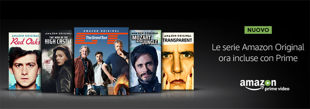 Amazon Prime Video ufficiale in Italia