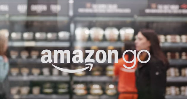 Amazon Go, addio code alla cassa