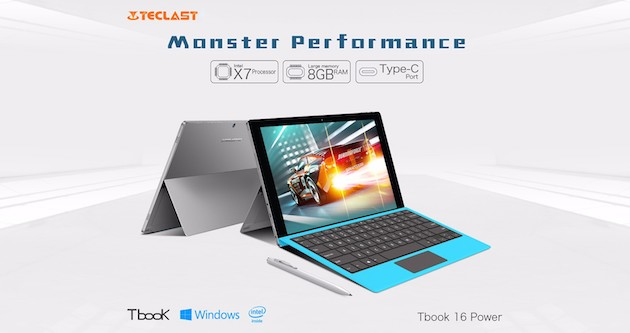 Teclast Tbook 16 Power in offerta: 8 GB RAM, Windows 10 ed Android