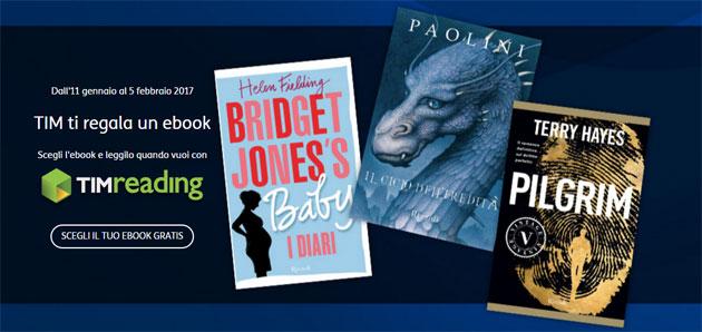 TIMreading regala un eBook fino al 5 febbraio