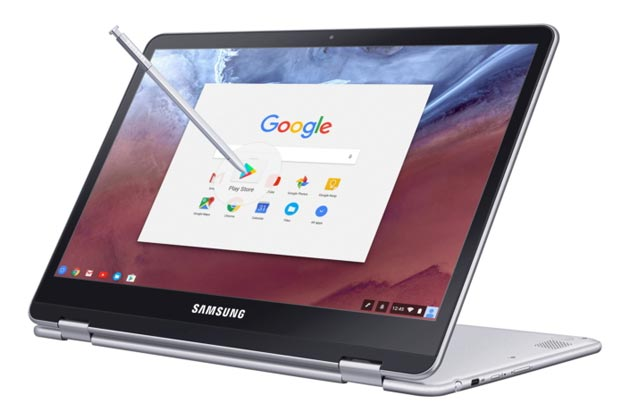 Samsung Chromebook Plus e Pro con Google Play Store