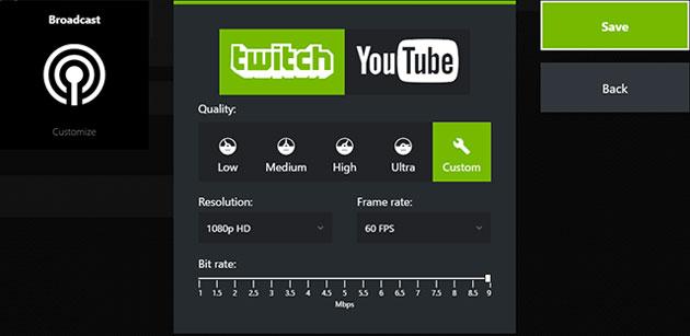Nvidia fa trasmettere i videogiochi direttamente su Facebook Live
