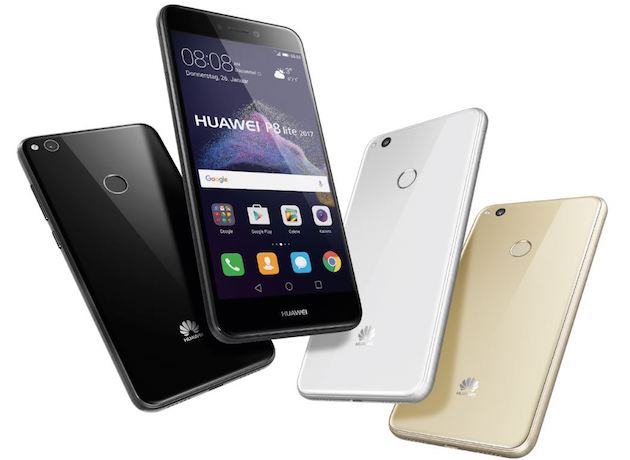 Huawei P8 Lite 2017 disponibile in Italia a 249 euro