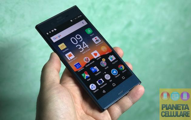 Recensione Sony Xperia XZ con Android 7 Nougat