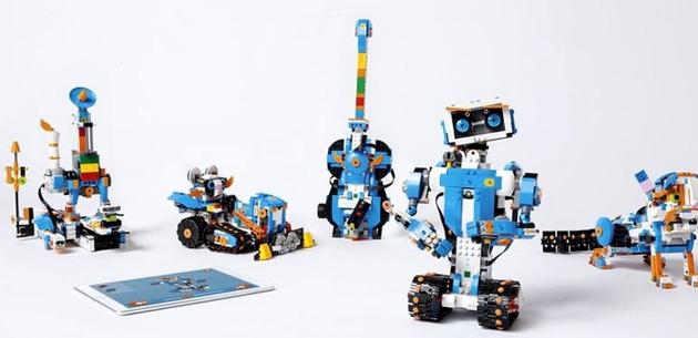 Lego Boost trasforma i mattoncini in robot programmabili