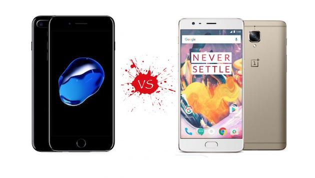 OnePlus 3T vs Apple iPhone 7 Plus, il nostro confronto video