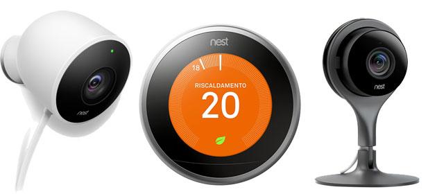 Nest in Italia col Termostato Learning e Videocamere di sorveglianza