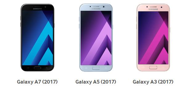 Foto Samsung Galaxy A 2017, Android 7 Nougat in Italia per tutti