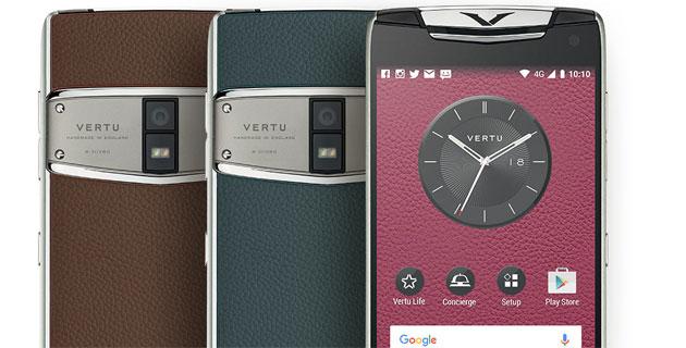 Vertu Constellation 2017, Android di lusso che effettua chiamate crittografate