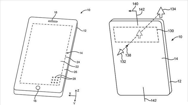 Apple brevetta schermo con fori per un telefono traslucido