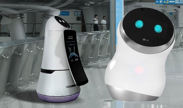 LG Hub Robot sfida Amazon Echo e Google Home