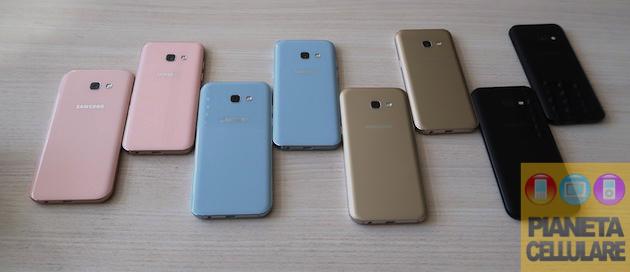 Anteprima video Samsung Galaxy A3 ed A5 2017
