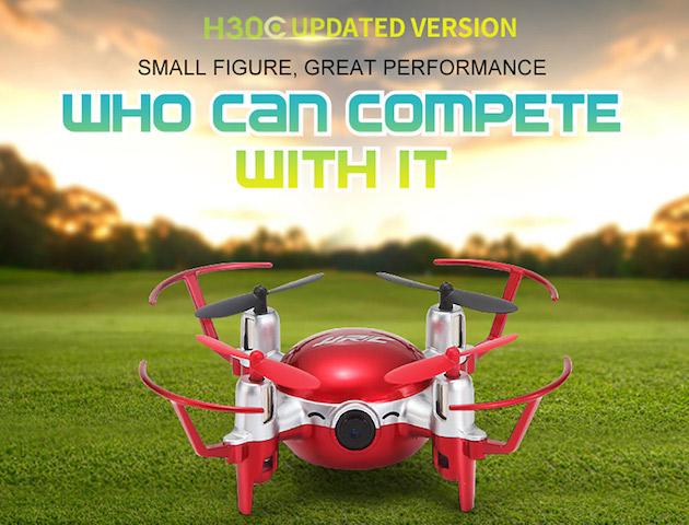 JJRC H30CH ELFIE, Drone da 20 euro che sta in tasca