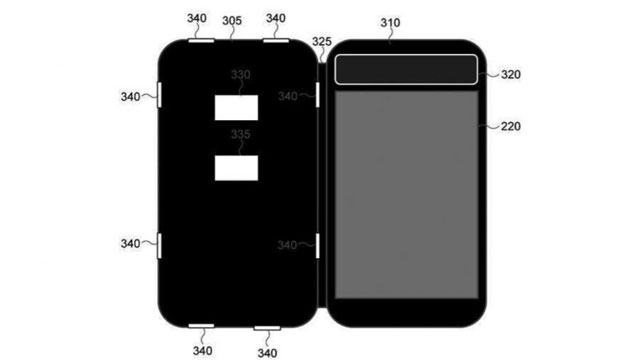 Samsung brevetta flip-cover con display e-ink