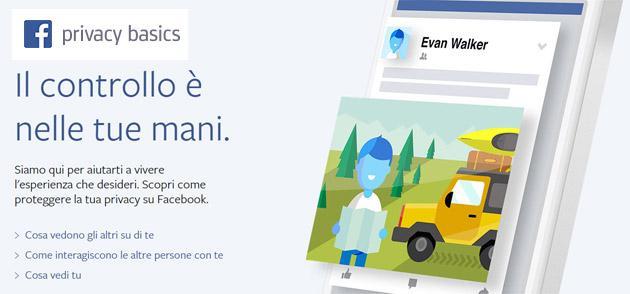Facebook migliora Basics Privacy, guida online con le Informazioni base sulla privacy