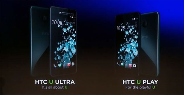 HTC U Ultra e U Play in Italia: Specifiche, Prezzi, Foto e Video Anteprima dal MWC 2017