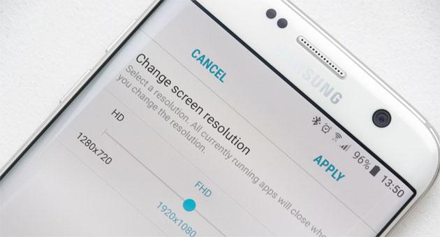 Galaxy S7, Android 7 Nougat abbassa risoluzione a FullHD
