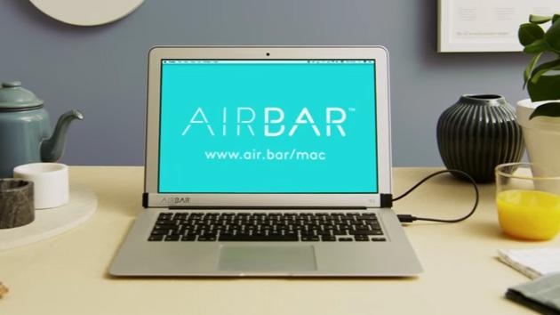 AirBar abilita sui MacBook il touchscreen