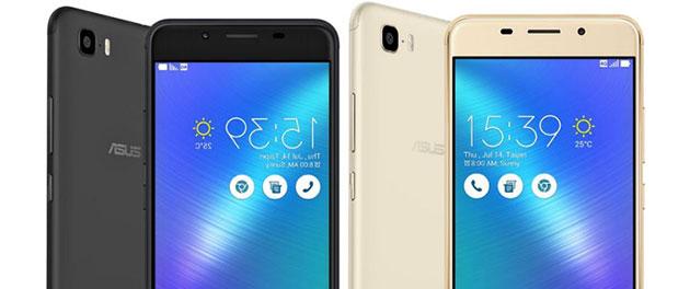 ASUS Zenfone 3s Max con batteria da 5000mAh e fotocamere da 13 MP e 8MP