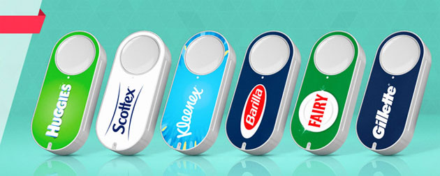 Foto Amazon Virtual Dash Button, pulsanti virtuali per ordinare velocemente prodotti su Amazon