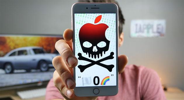 Messaggio con emoji dell'arcobaleno blocca l'iPhone