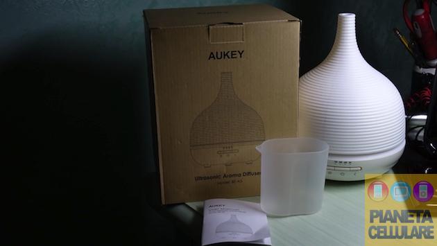 Recensione umidificatore Aukey ad ultrasuoni