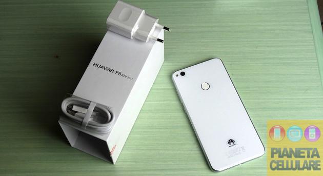 Huawei P8 Lite 2017, unboxing e prime impressioni