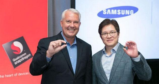 Samsung inizia sviluppo di chip a 7nm in tempo per Galaxy S9
