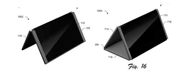 Microsoft brevetta telefono pieghevole