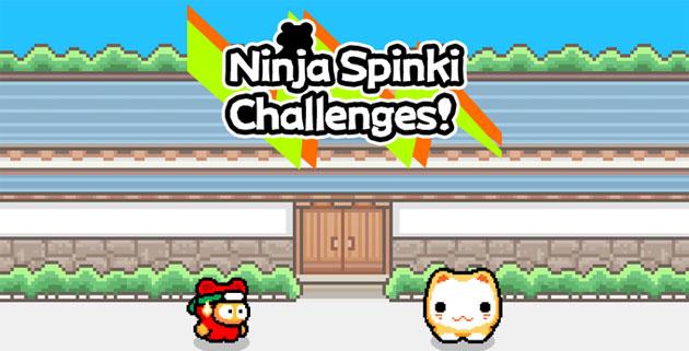 Ninja Spinki Challenges, gioco dal creatore di Flappy Bird per iOS e Android