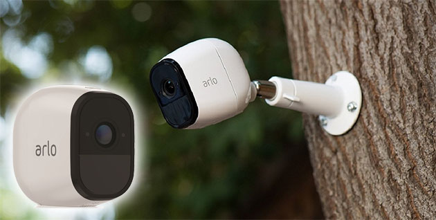 Netgear Arlo Pro: telecamera senza fili con video HD, batteria ricaricabile, impermeabile, audio a 2 vie e ampio angolo di visione