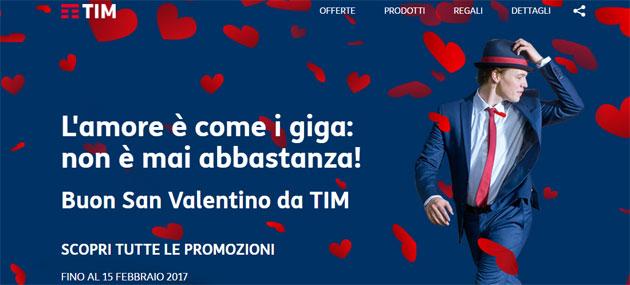 TIM per San Valentino 2017